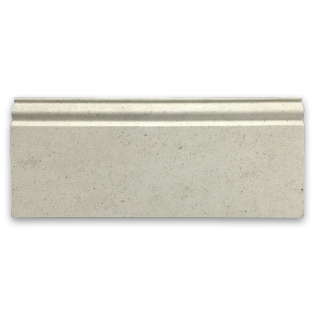 "**LIMITED STOCK** Chateau De Sable European Limestone 5"" x 12"" x 3/4"" Base Molding Honed - Elon Tile"