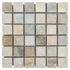 "Golden Sand Quartzite 2"" x 2"" Mosaic"