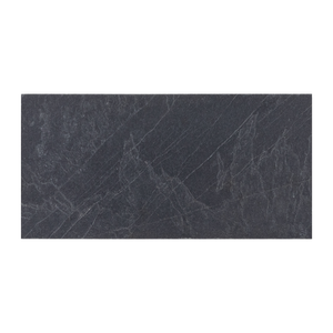 "Midnight Slate 6"" x 12"" Brushed - Elon Tile"