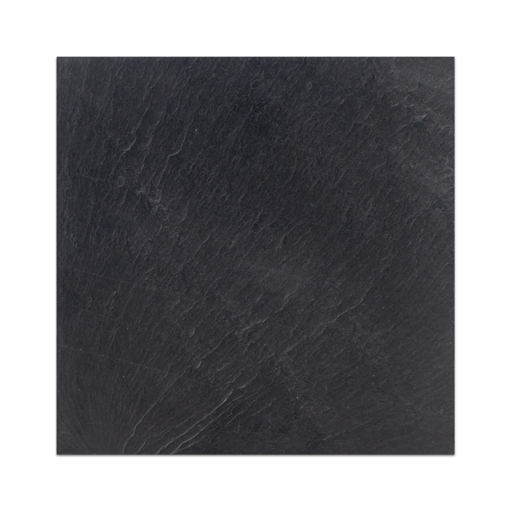 "Midnight Slate 12"" x 12"" Brushed (Packed @ 10) - Elon Tile"