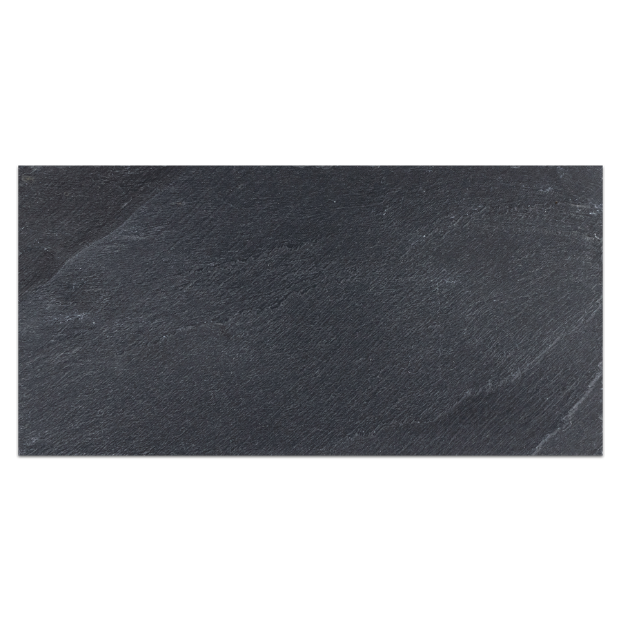 "Midnight Slate 12"" x 24"" Brushed (Packed @ 5) - Elon Tile"