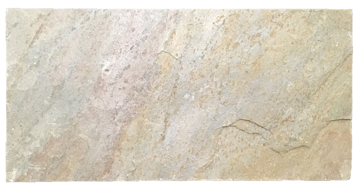 "Golden Sand Quartzite 12"" x 24"" Brushed - Elon Tile"