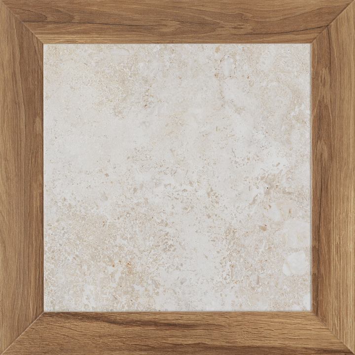 "Travertine Square Porcelain 19"" x 19"" Matte - Elon Tile"