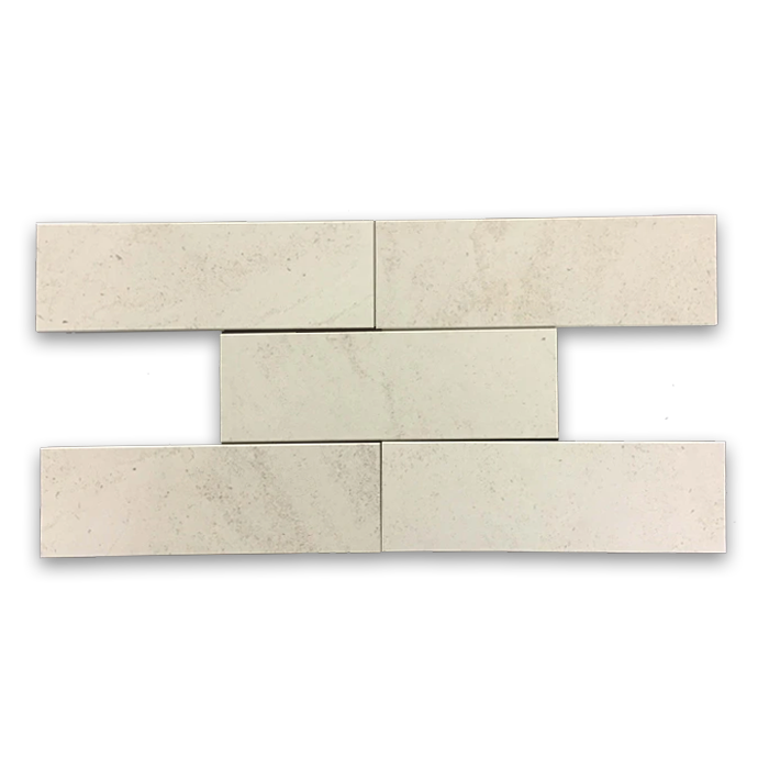 "**LIMITED STOCK** Vague De Fleurs European Limestone 4"" x 12"" Honed - Elon Tile"