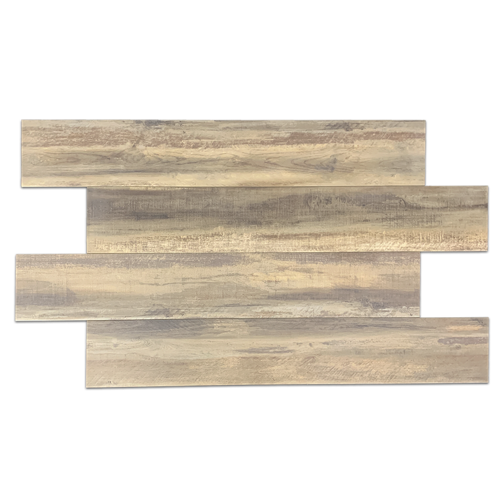 "**LIMITED STOCK** Moka 8"" x 48"" Wood Porcelain - Elon Tile"