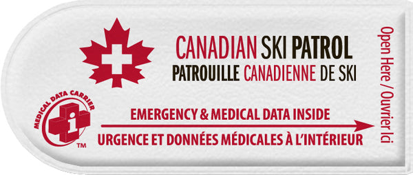 Canadian Ski Patrol - Portion of purchase goes to support the CSP