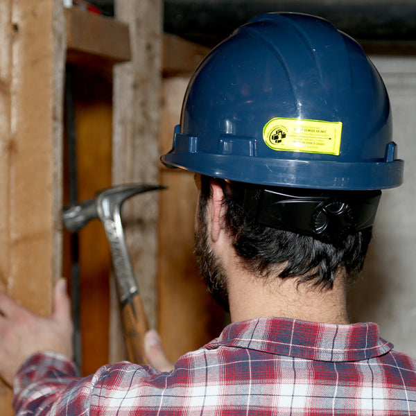 Worker Hard Hat and Personal Protection Equipment (PPE)