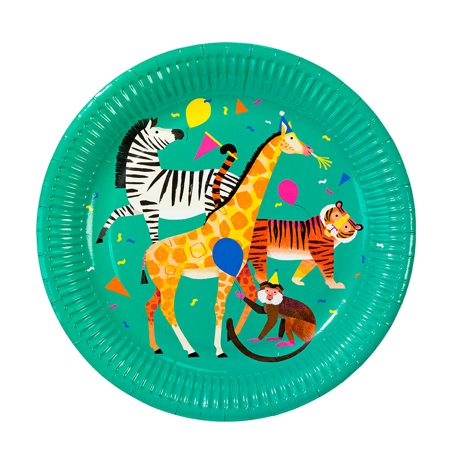 Party Animals Paper Plates
