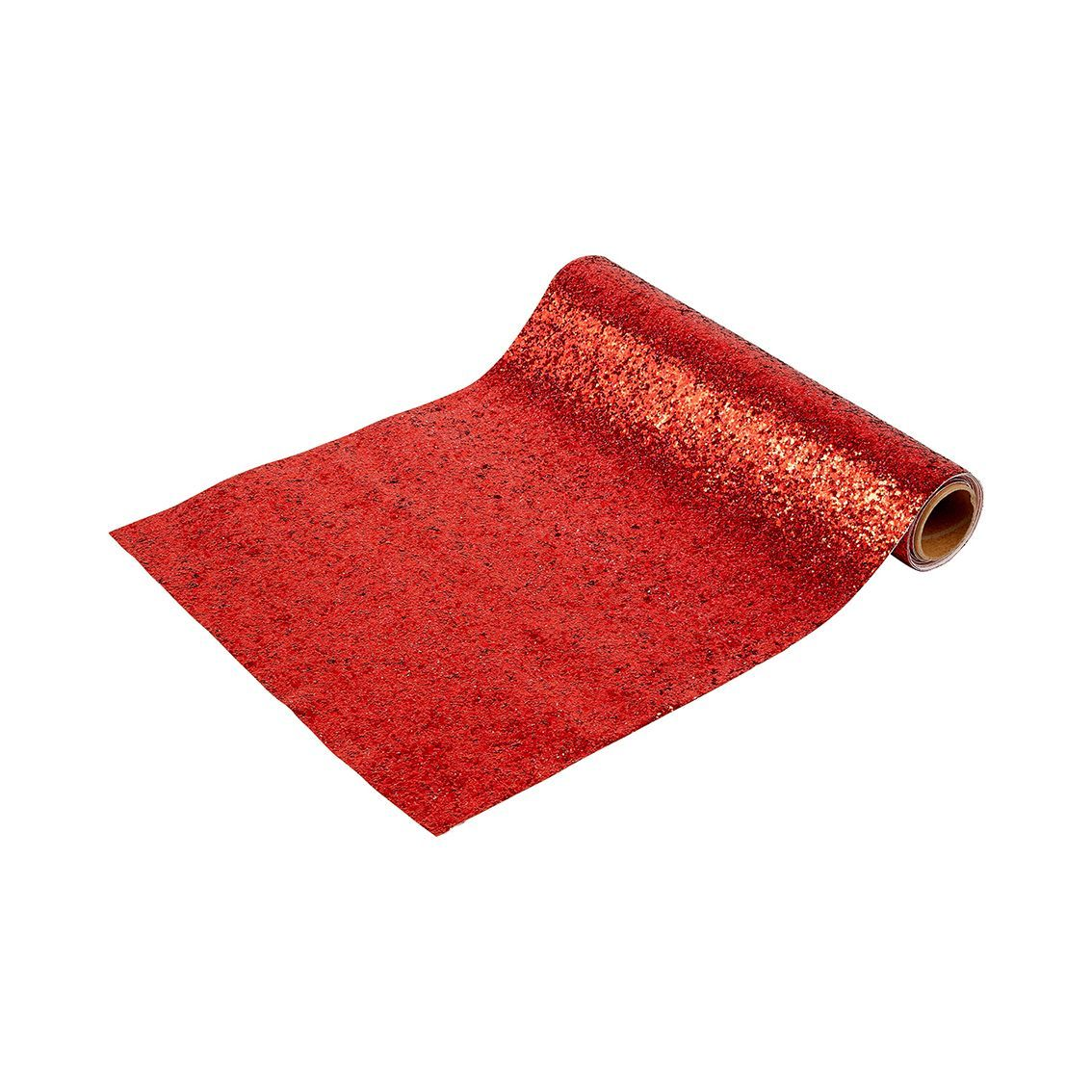 Red Glitter Table Runner