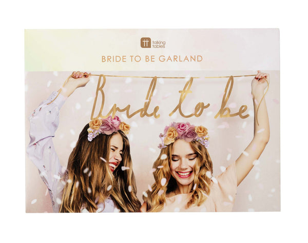 Bride To Be Garland