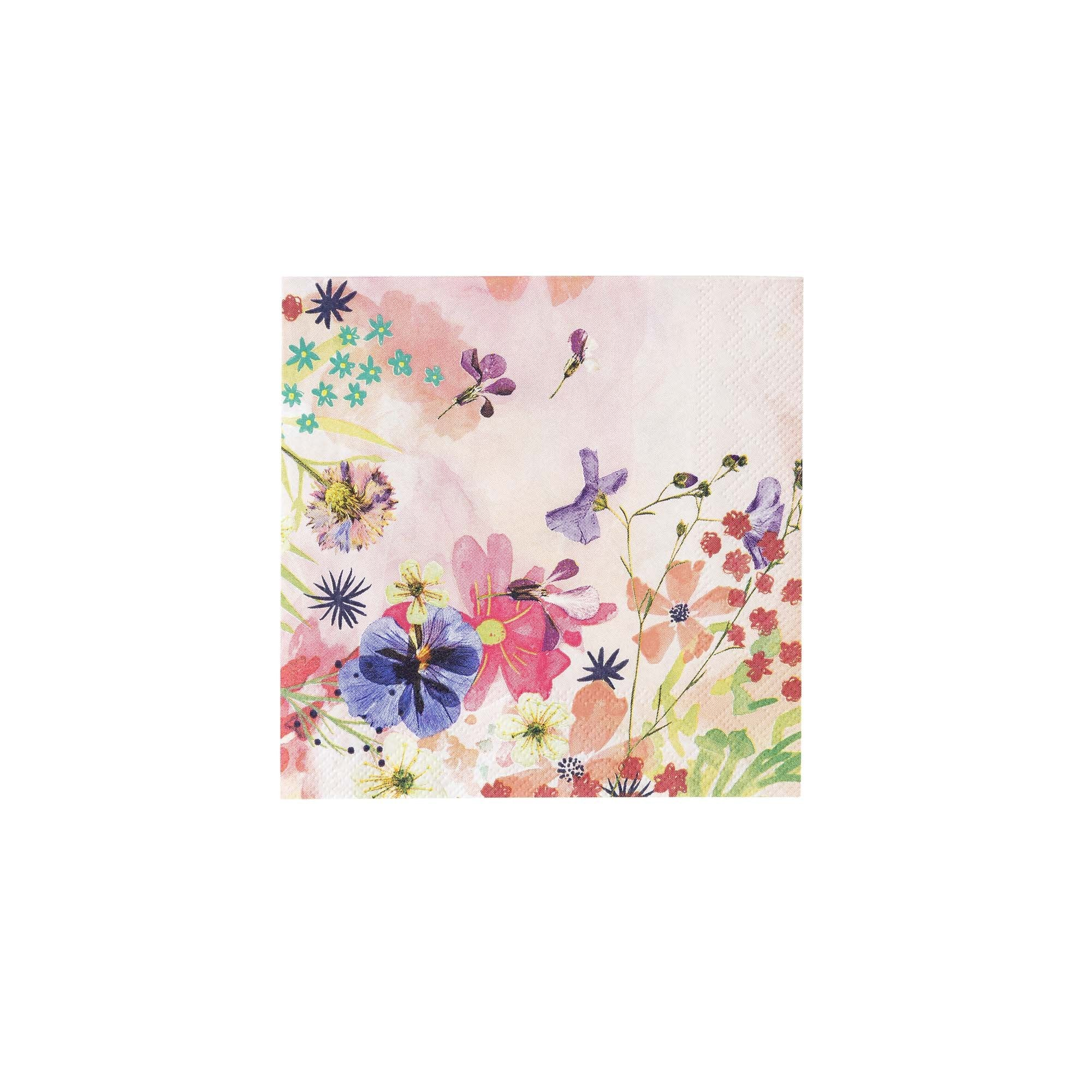 Cocktail Napkins - Blossom Girls