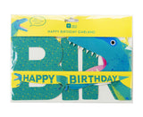 Dinosaur Happy Birthday Garland