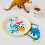 Dinosaur Shaped Paper Napkins