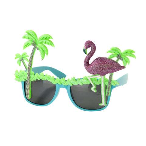 Palm Tree and Flamingo Sunnies