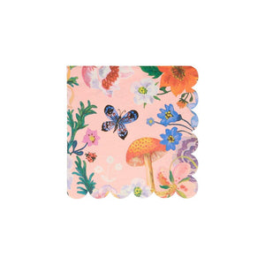 Nathalie Lete Flora Small Paper Napkins