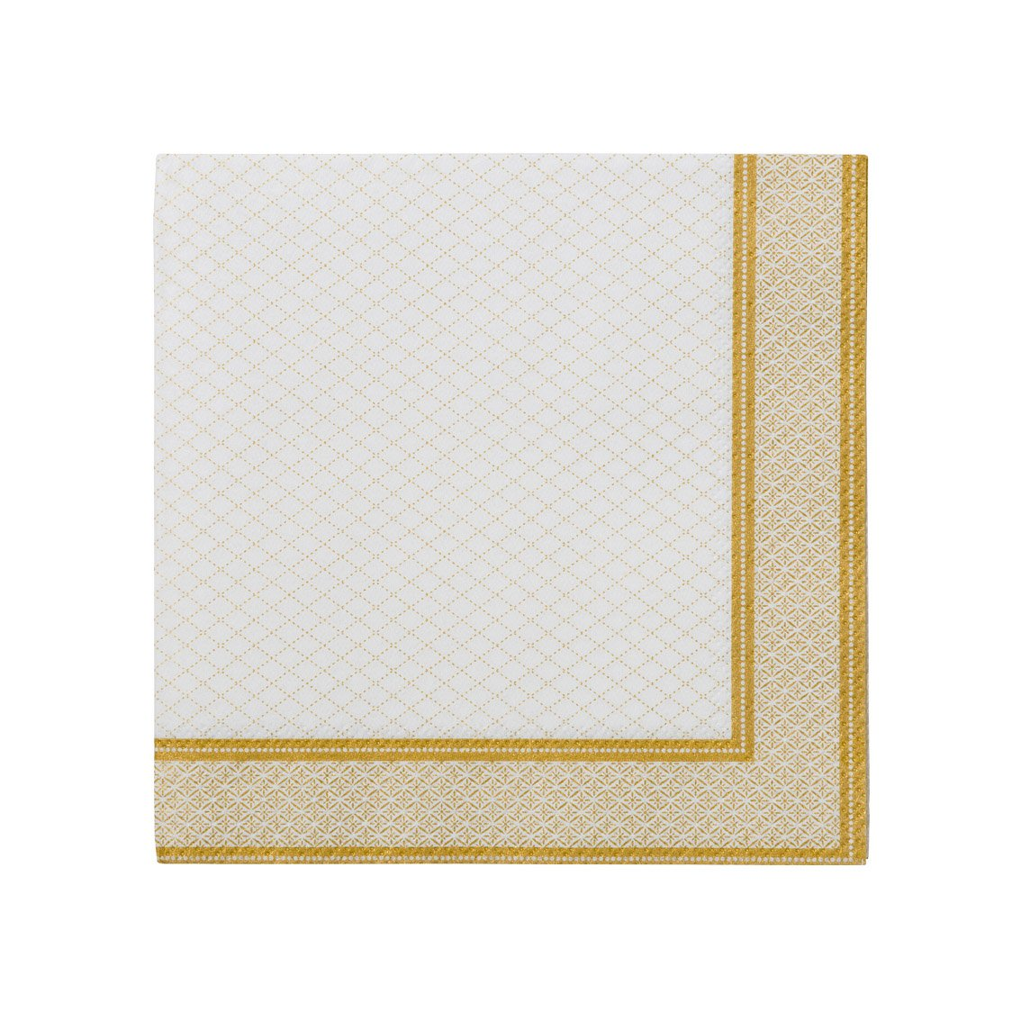 Party Porcelain Gold Cocktail Napkins