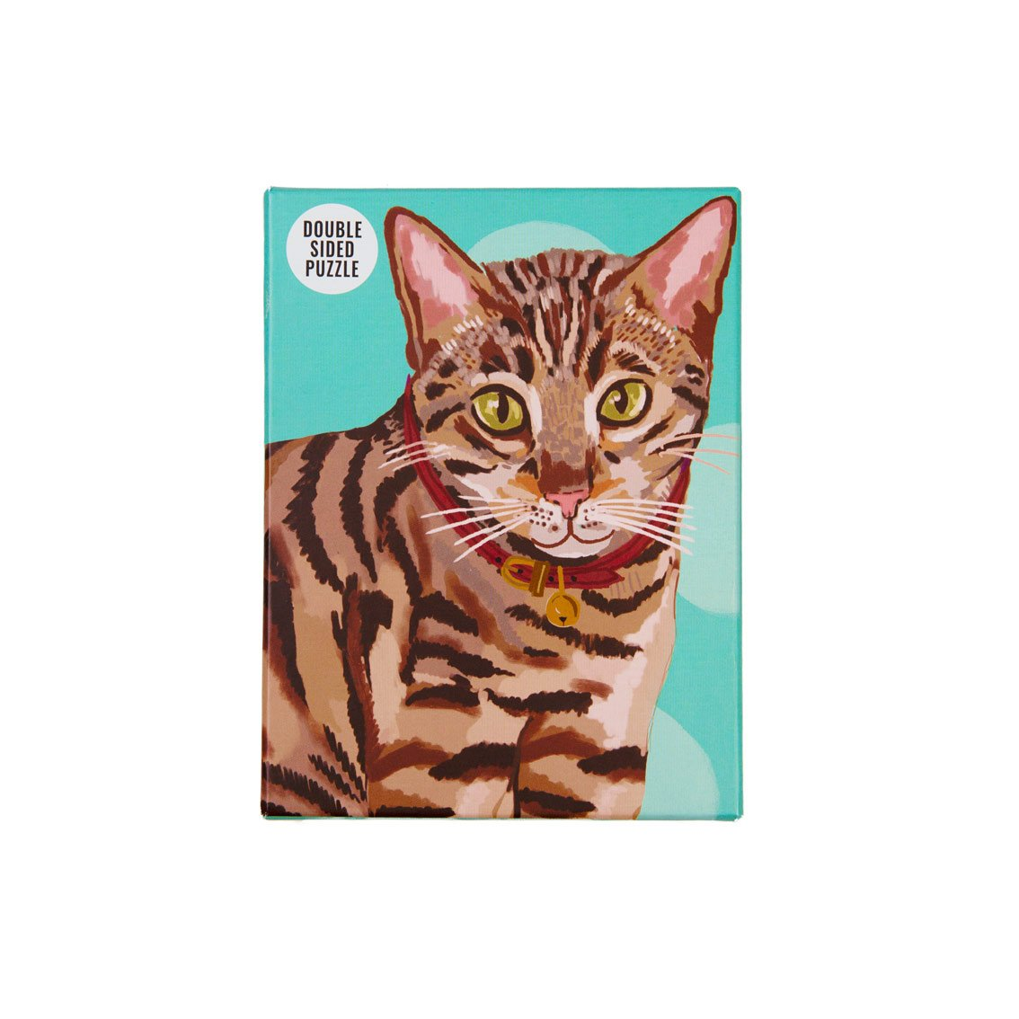 Bengal Cat Puzzle Double-Sided 100 Pieces