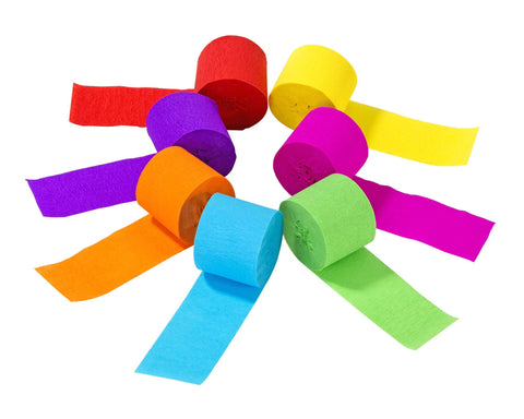Rainbow Bright Streamers