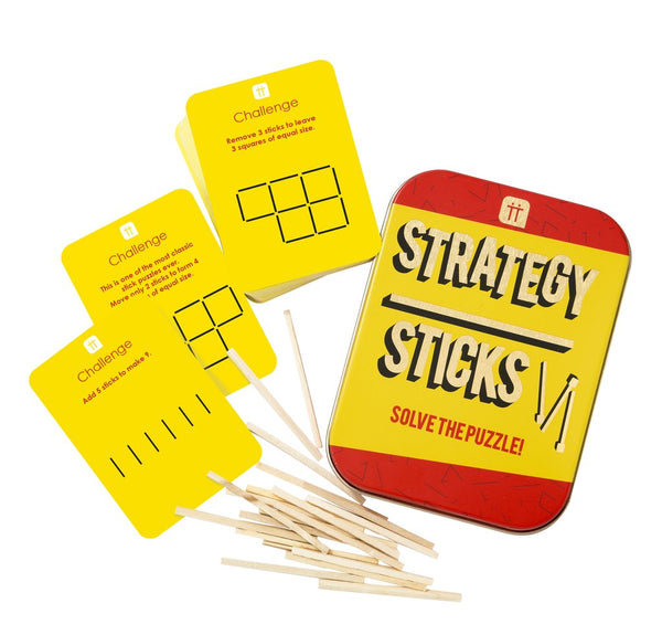 Strategy Sticks In A Tin | Puzzle Games