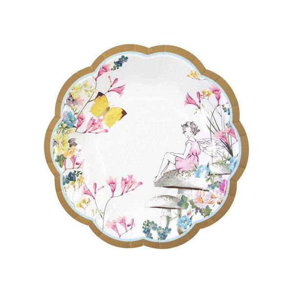 Fairy Scallop Edged Paper Plates