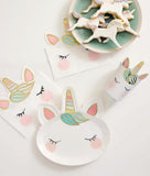 Unicorn Paper Face Plates