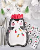 Penguin Shaped Plates