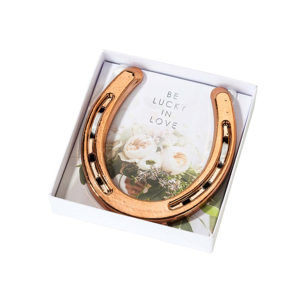 Rose Gold Horseshoe