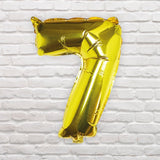 Number Balloons - 7
