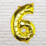 Number Balloons - 6