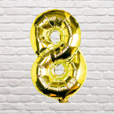 Number Balloons - 8