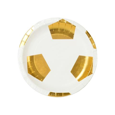 Football Shaped Paper Plates