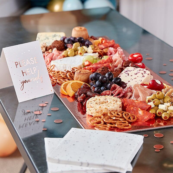 Rose Gold Food Grazing Board Table Kit