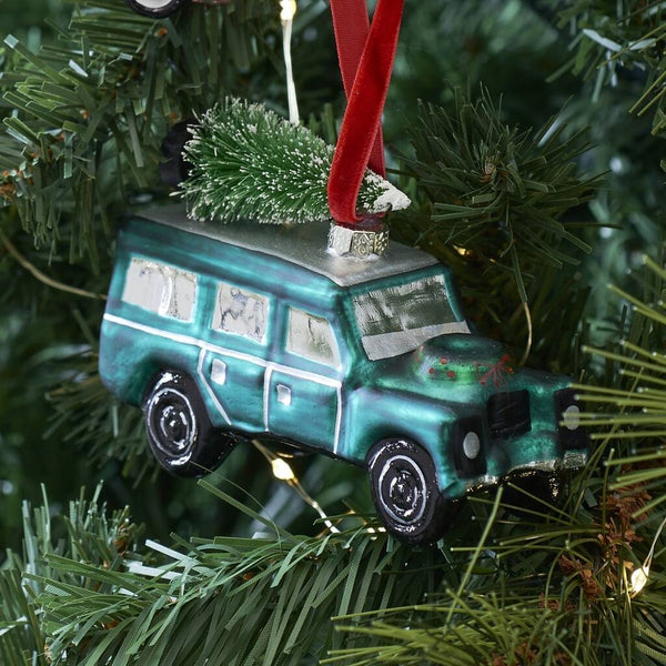 4x4 Car Glass Tree Decoration