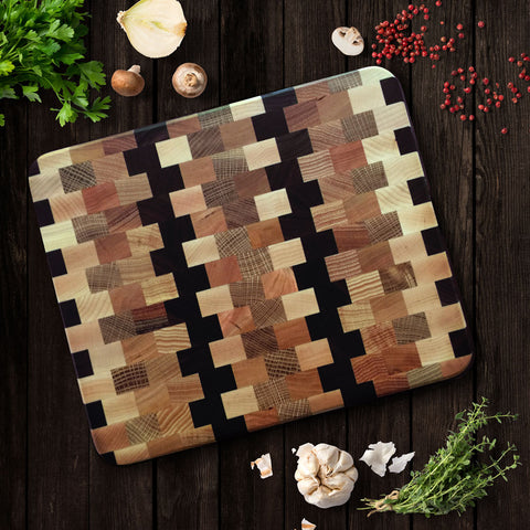 End-Grain Hardwood Cutting Boards
