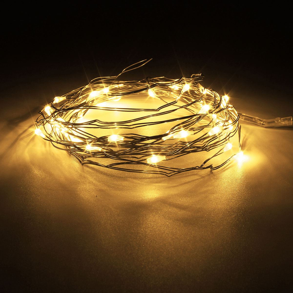 mising battery operated 2m3m4m multicolor led mini led copper wire string fairy