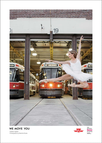 TTC Ballet Poster - Heather Ogden