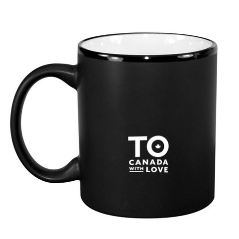 TO Canada with Love ICONS Coffee Mug, White Interior