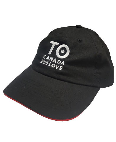 TO Canada with Love Relaxed Fit Baseball Cap, Black