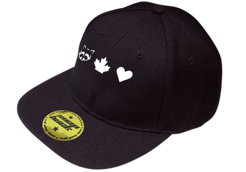 TO Canada with Love ICONS Pro Style Baseball Cap, Black