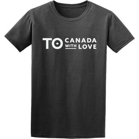 TO Canada with Love T-Shirt, Heather Black - Men's