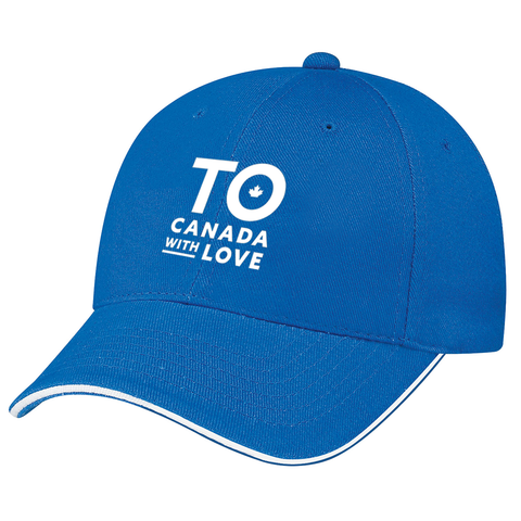TO Canada with Love Structured Fit Baseball Cap, Royal