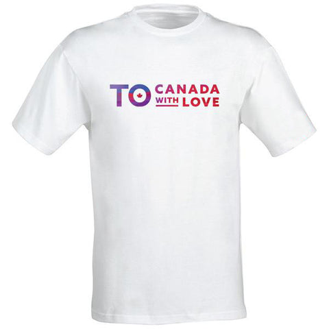 TO Canada with Love T-Shirt, White - Men's