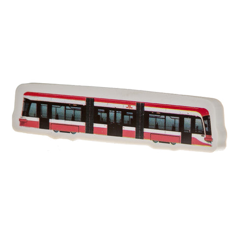 Street Car Eraser, Pack of 3