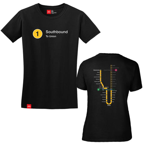 Southbound Line T-Shirt - Ladies'