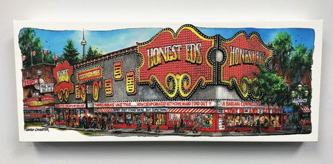Honest Eds Streetcar Canvas Wrap Wall Art