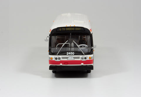 Modern Paint Scheme Model Bus - Deluxe Version