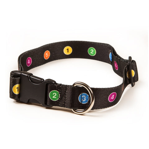 Line Number Pet Collar