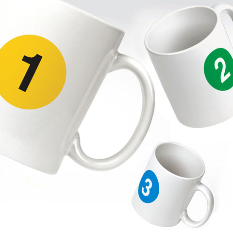 Subway Line Ceramic Mug