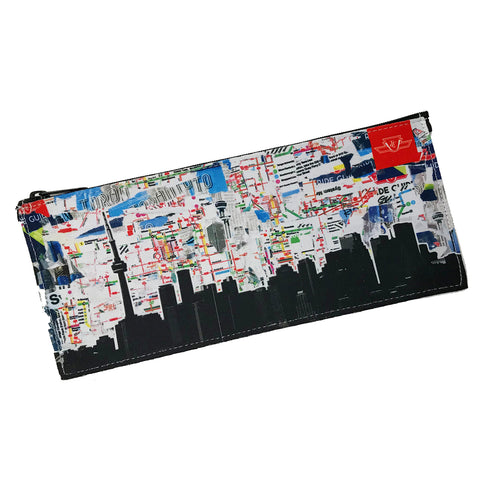 TTC TORONTO Skyline Pencil Case