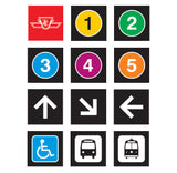 Wayfinding Picto Magnets